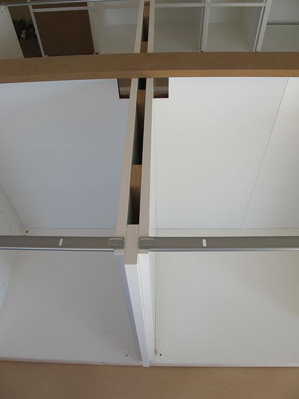 Platsbyggt Kok Ikea Stommar : delar av koket kokson stommarna ihopmonterade och uppstollda po