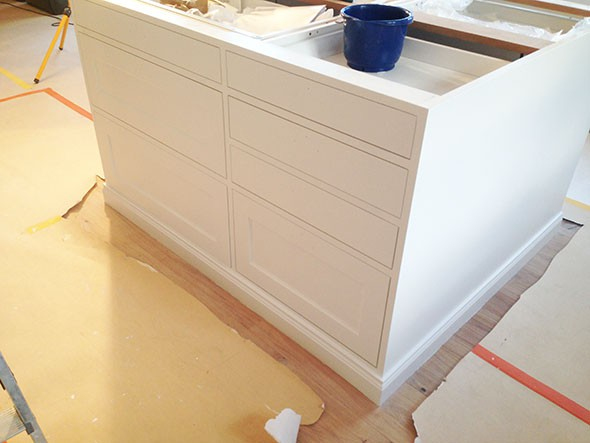 Platsbyggt kök på Ikea stommar – del 1