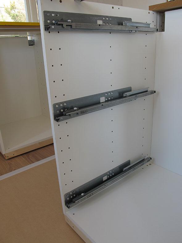 Platsbyggt k?k p? Ikea stommar  del 1  Mitt Shaker K?k
