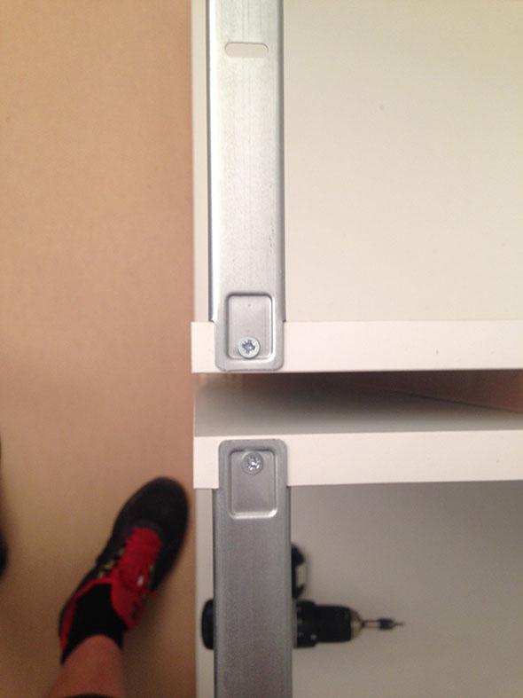 Platsbyggt Kok Ikea Stommar : Voldigt viktigt att stommarna stor rott, minsta millimeter fel syns